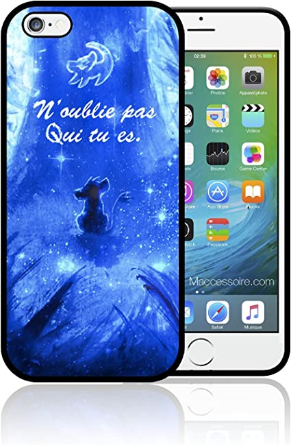 Coque Samsung S5 S6 EDGE S7 EDGE Simba Le Roi Lion The Lion King ...