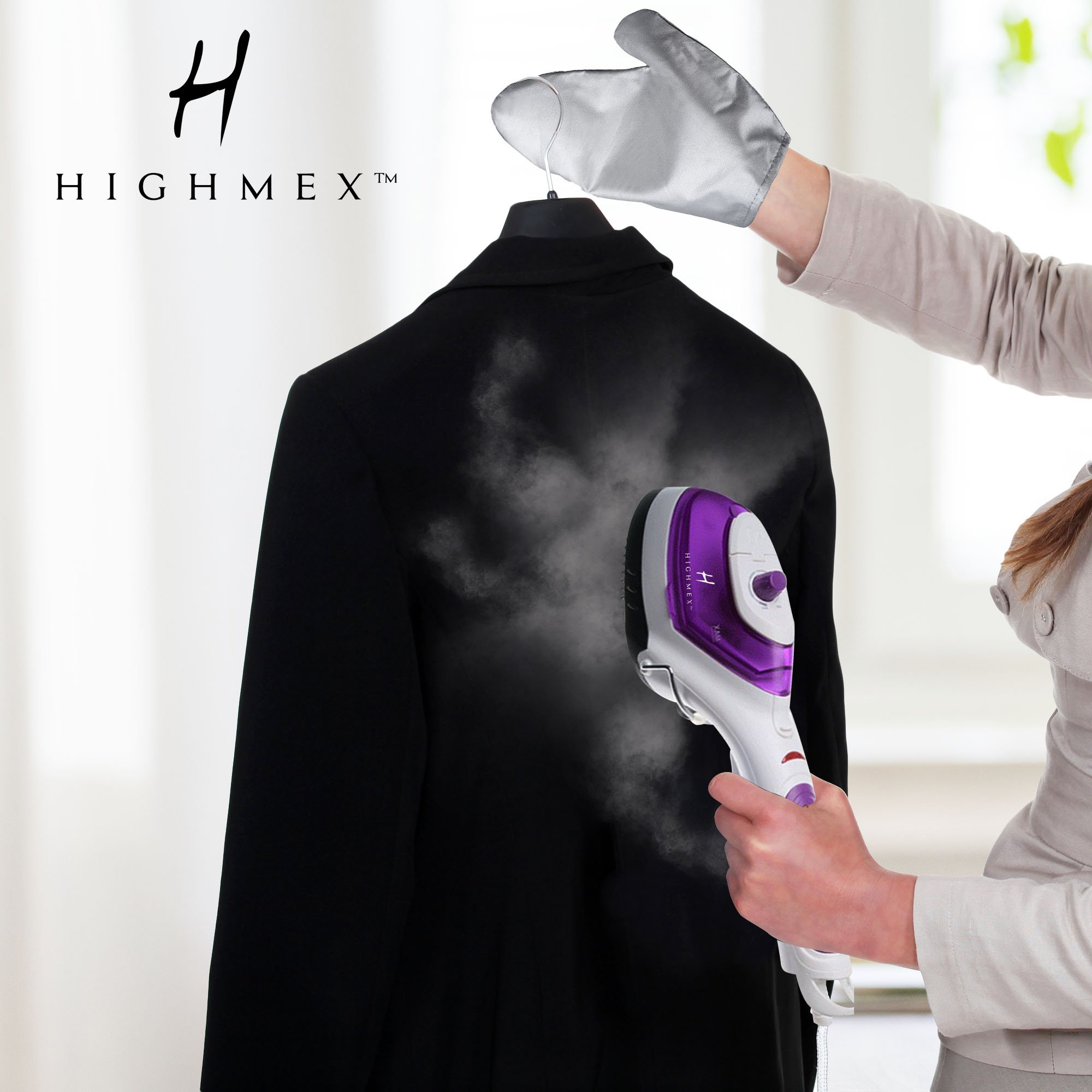 Portable Hand Held Clothing Steamer: Mini Steam Iron For Clothes, Curtains,  Bedding And More   Compact Hand Steamer For Home Or Travel Use   Fast Heat  ...