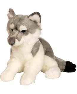Gipsy 054692 - Lobo de peluche (30 cm), color gris