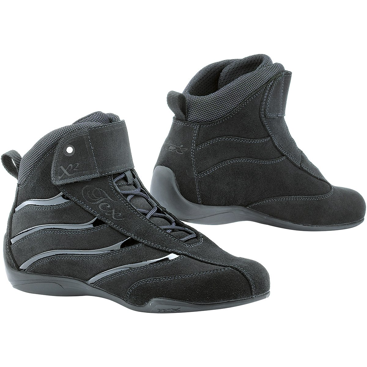 TCX X-Square Lady Women's Street Motorcycle Boots - Black / 36