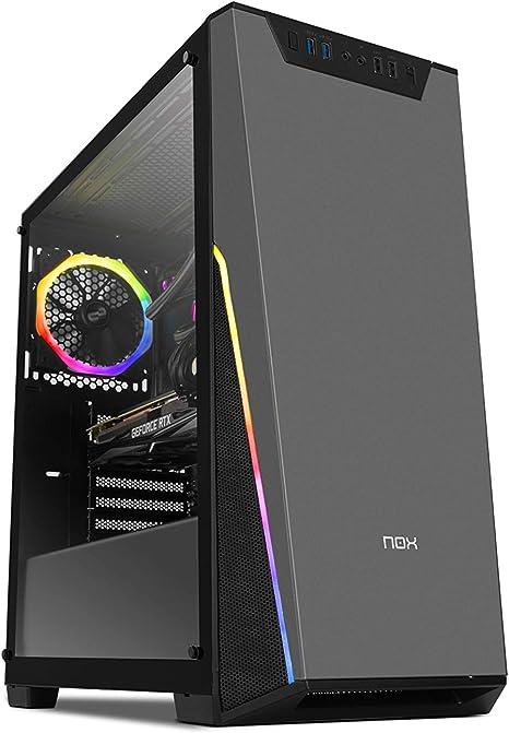 Nox Infinity Sigma - NXINFTYSIGMA - Caja PC, RGB, Color Negro: Nox ...