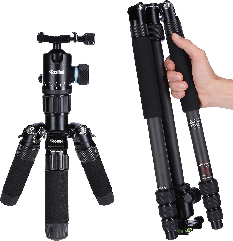 Rollei C5i Compact Lightweight All Round Photo Tripod Camera Photo