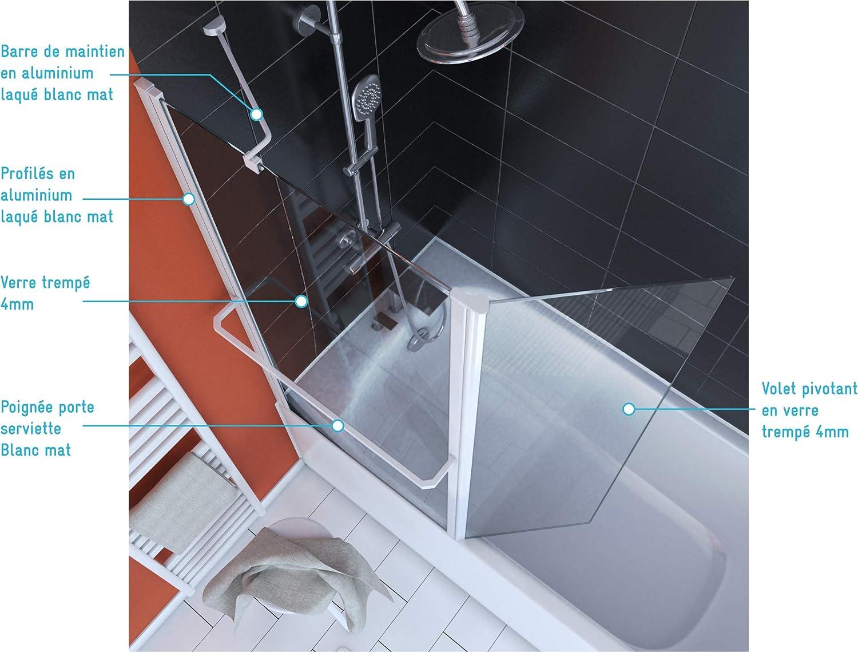 Aurlane FAC278 - Pare bañera, color blanco: Amazon.es: Bricolaje y ...