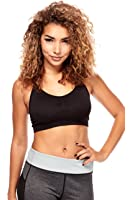Womens Ladies Juniors Korean Style Padded Strapped Sports Bras nkt1243