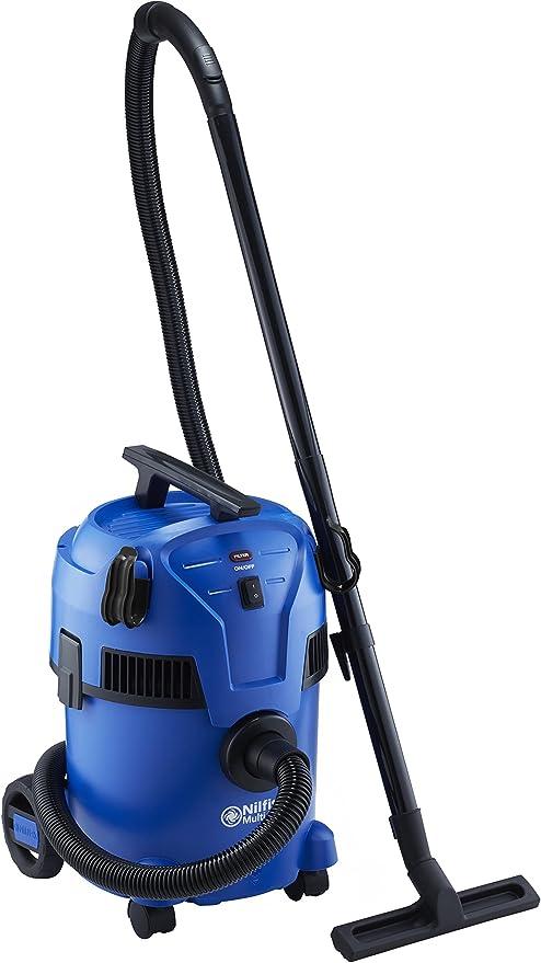 Nilfisk Aspirador de Bricolaje Multi II 22, con indicador de Limpieza del Filtro, Azul, 22L: Amazon.es: Hogar