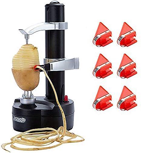 Electric Peeler Fruit Cutter Slicer Automatic Apple Potato Tomato  Peeler Sale