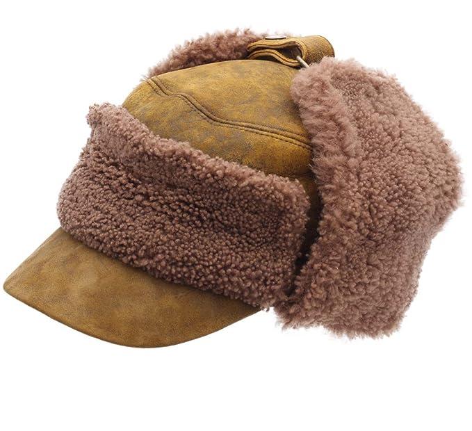 Stetson - Gorra cuero hombre Lewiston Lambskin-Wool - talla XL: Amazon.es: Ropa y accesorios