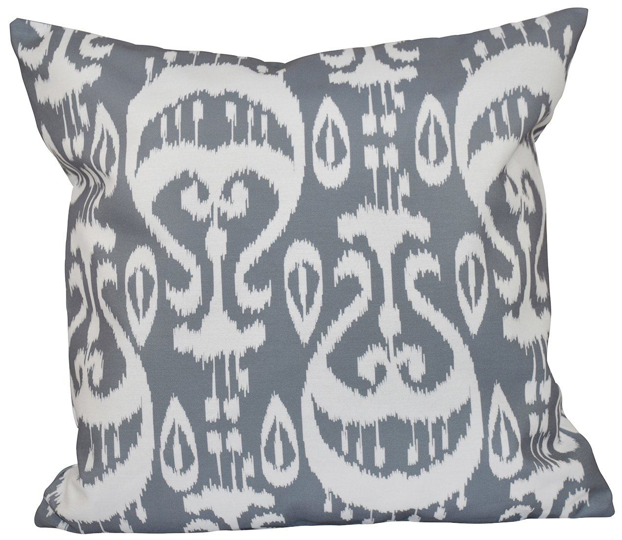E by design O5PGN544GY2-18 Printed Outdoor Pillow