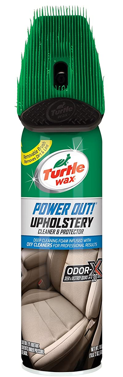 Turtle Wax T-246R1 Power Out! Upholstery Cleaner Odor Eliminator