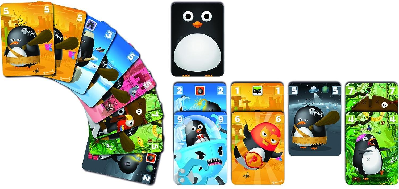 Bombyx byx0001/ pingvasion Multicolore /Jeu de Carte