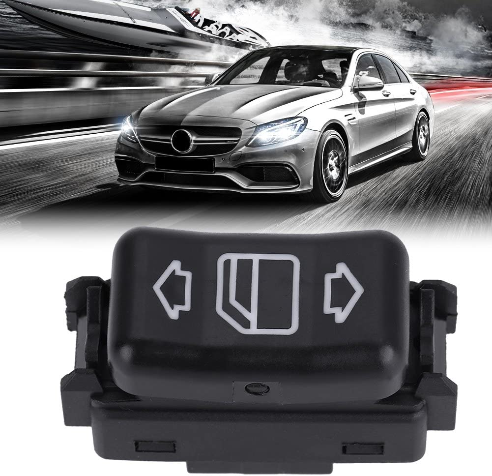 Qiilu Power Master Rear Right Window Switch Button for Mercedes Benz 1248204510