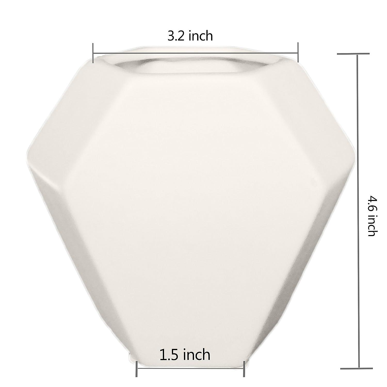 Amazon Ceramic Small Collection Geometric Planter 3 Pack