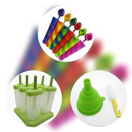 CS STORE Set 15 piezas Helados / Moldes para helados hechos de plástico de alta calidad