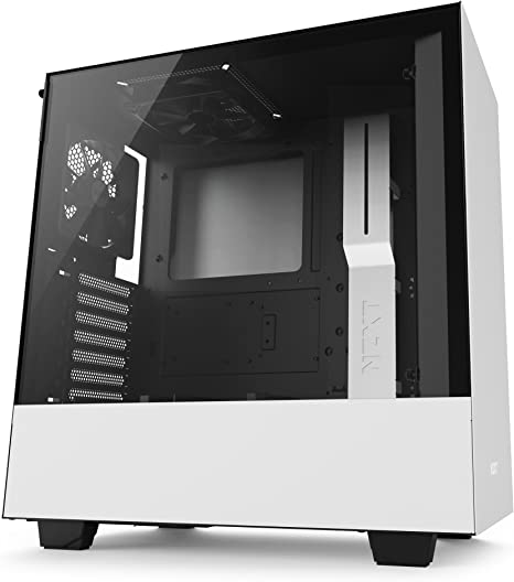 NZXT H500 ATX Computer Case CA-H500B-W1 White//Black
