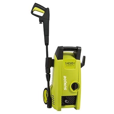 Sun Joe SPX1000 1450 Max PSI 1.45 GPM 11.5-Amp Electric Pressure Washer, Green