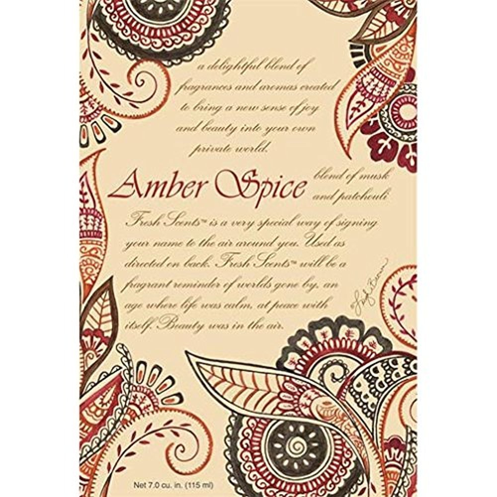 Willowbrook Fresh Scents Scented Sachet Set of 6 - Amber Spice by Fresh Scents (Image #1)