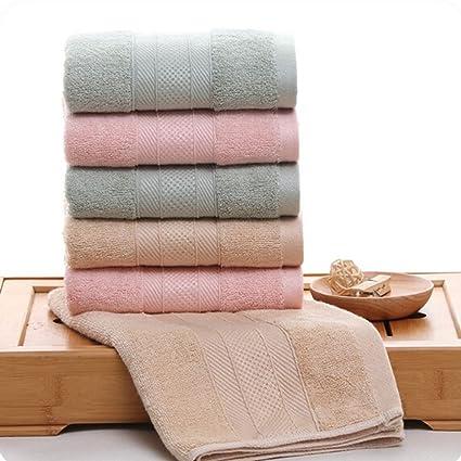 chige bambú toalla de baño, muy absorbente, de peluche, suave, bacterias y