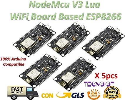 2PCS Lua Nodemcu WIFI Network Development Board Based ESP8266 CH340 NEW