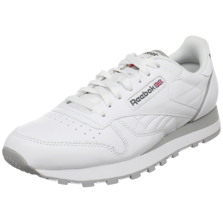Reebok Men's Classic Leather Sneaker B000I123BA 10 D(M) US|White