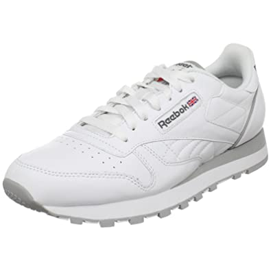 reebok classic leather running shoes mens