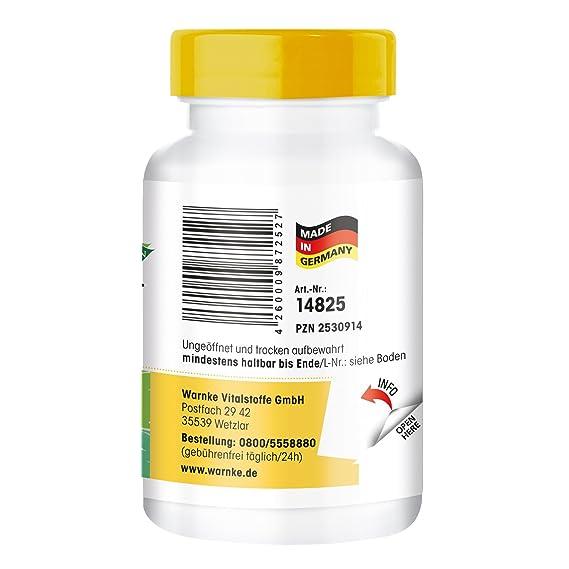 Ascorbato de calcio 300mg - vitamina C buena para el estómago - 250 cápsulas - artículo vegano: Amazon.es: Salud y cuidado personal