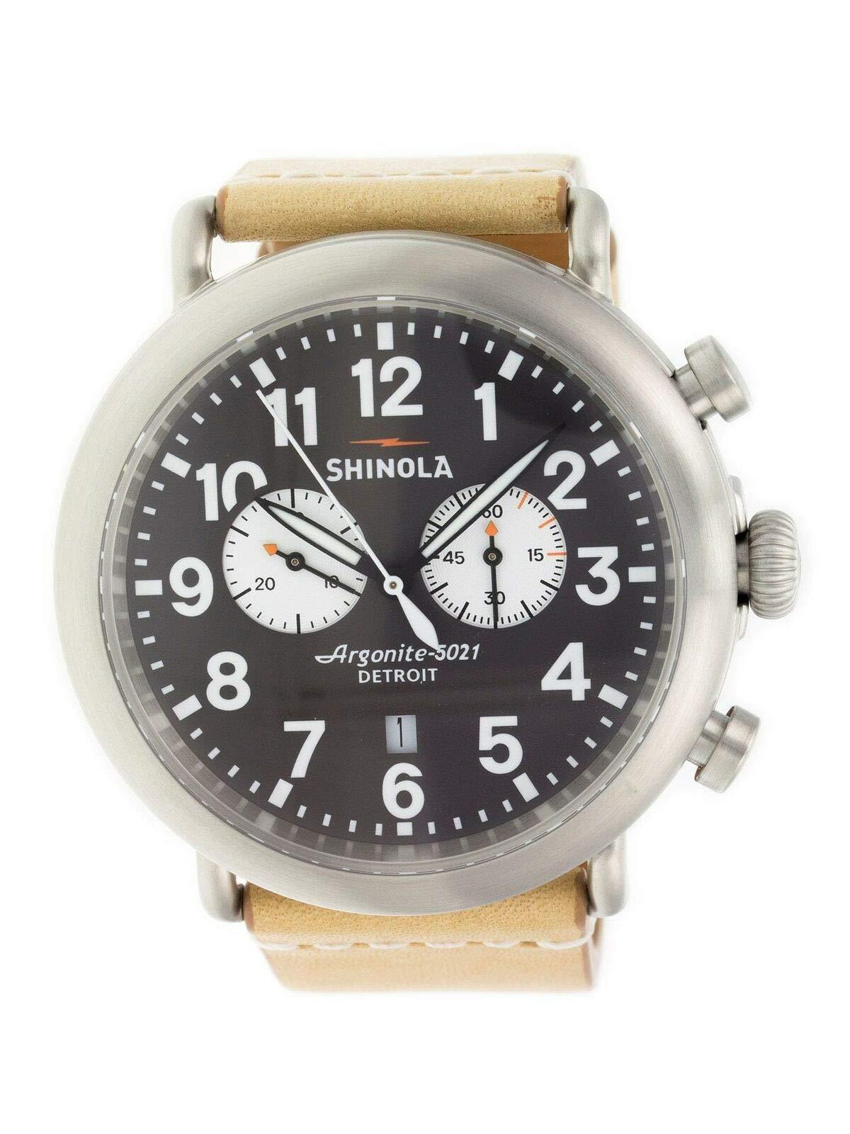 Shinola The Runwell Quartz Male Watch 10000172 (Certified Pre-Owned)
