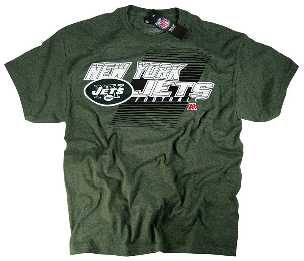 New York Jets Team Clothing-T-shirt a maniche corte con Logo NFL ufficiale della National Football League
