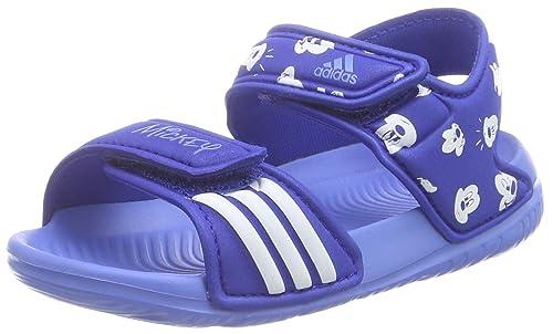 adidasDisney Akwah - Botines de Senderismo Bebé-Niñas, Color Azul, Talla 27