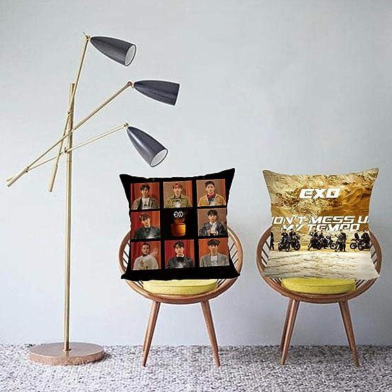 hengwei KPOP Exo - Funda de Almohada de Doble Cara con ...