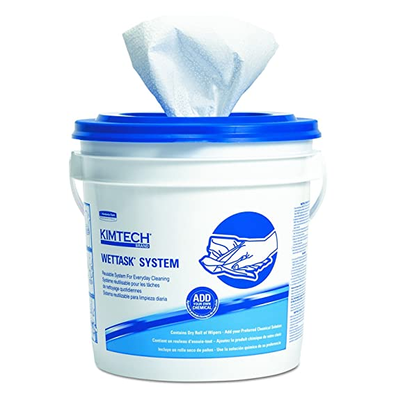 KIMTECH Prep 06411 Rollo desechable Wiper para Bleach, desinfectantes y desinfectantes, 12-1 / 2