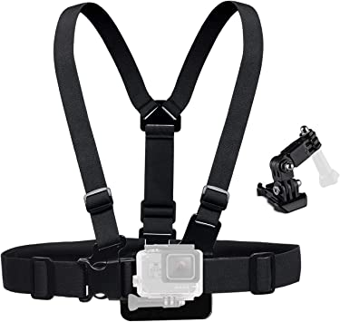 TELESIN Biking Off-road Sports Chest Belt Straps for GoPro OSMO Action Camera