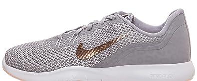79f0889597 Nike Damen Flex Trainer 7 Print Fitnessschuhe, Grau (Atmosphere Grey/MTLC  006)