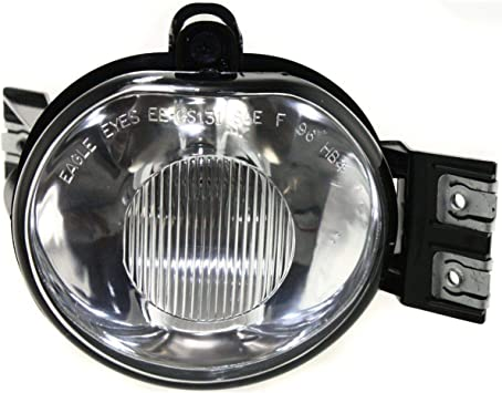 Kool Vue Clear Lens Fog Light For 2002-08 Dodge Ram 1500 RH CAPA w// Bulb