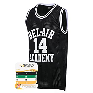 f1e50beca38b AFLGO The Fresh Prince Of Bel Air Academy Jersey Will Smith Include Set  Wristbands S-
