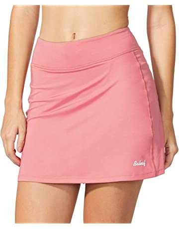 948aa854 Baleaf Women's Active Athletic Skort Lightweight Skirt with Pockets for  Running Tennis Golf Workout