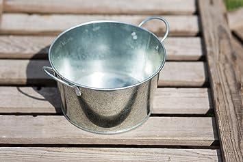 Gartenmetall Outdoor Küche : Zink groß sukkulente garten metall blumentopf Übertopf : amazon.de
