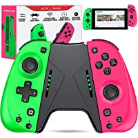 ESYWEN Joy Pad Controller for Nintendo Switch, Controllers for Nintendo Switch joycon, Replacement for Joycon with Macro Button and Grip Stand, Ergonomic Hand Joy pad Joystick Remote Controller