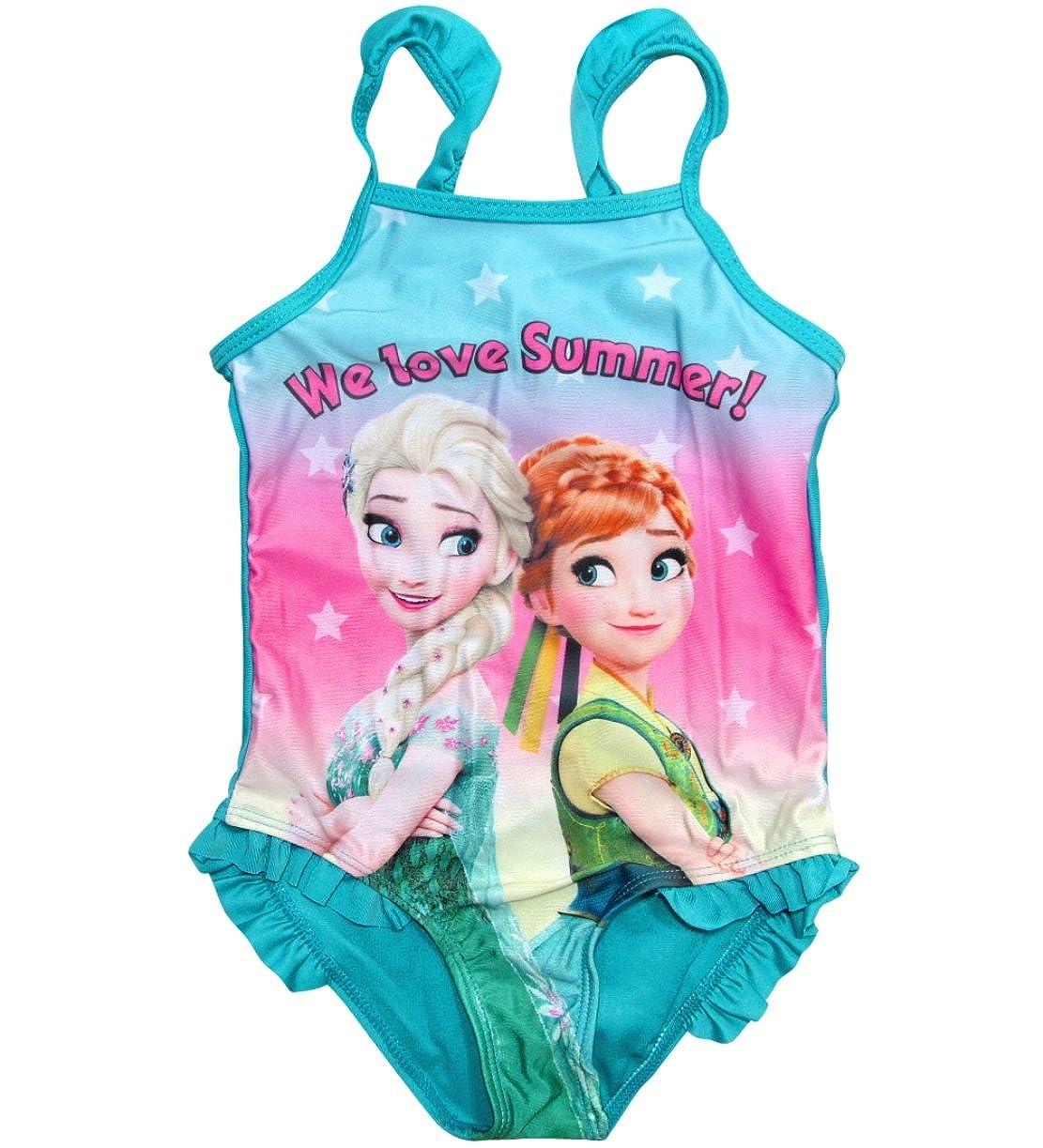 Frozen Badeanzug Die Eiskönigin Anna ELSA Disney