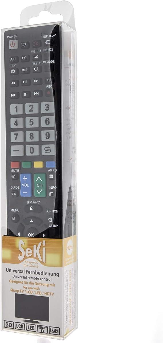 Seki Fernbedienung Passend Für Sharp Funktioniert Mit Elektronik