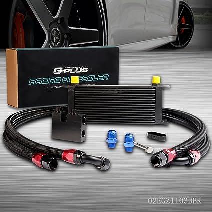 16Row Oil Cooler Kit For BMW N54 Engine Twin Turbo 135 E82 335 E90 E92 E93