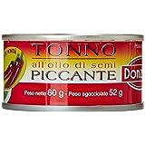 Donzela - Tonno all'Olio di Semi Piccante, 3 x 80 g - 240 g