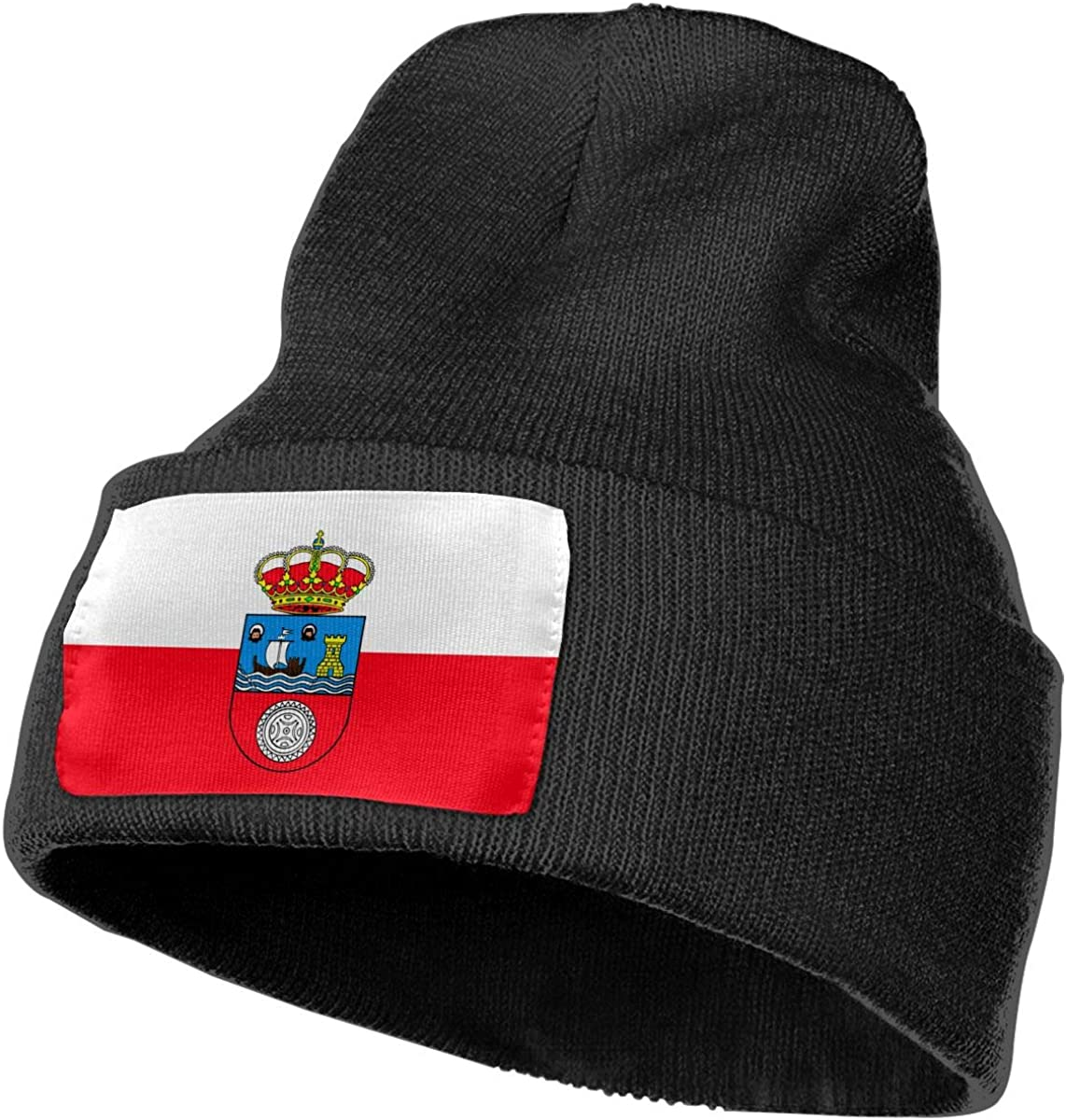 JimHappy Flag of Poland Hat for Men and Women Winter Warm Hats Knit Slouchy Thick Skull Cap