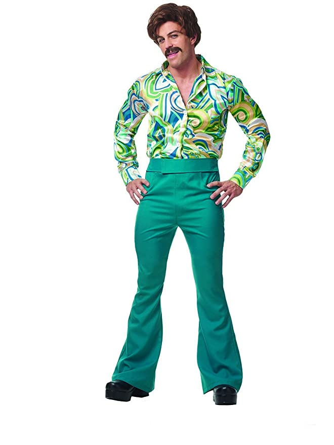 70s Costumes: Disco Costumes, Hippie Outfits 70s Disco Dude Adult Costume XL $35.12 AT vintagedancer.com