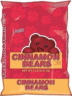 product image for Cinnamon Bears Candy, Gummy Bear Bag, 5 Pounds