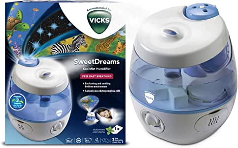 Vicks VUL575 - Humidificador de vapor frío Dulces Sueños con ...