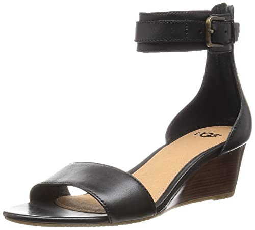 6478cb5e0a0 UGG Womens Char Ankle Strap Sandal (6 M US