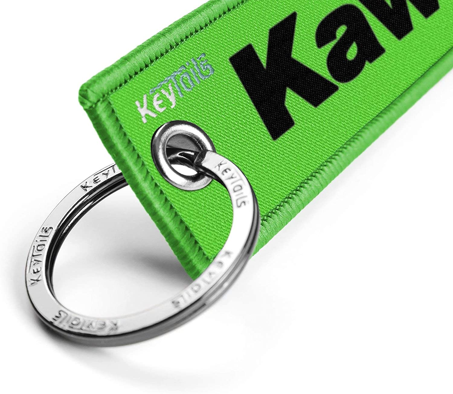 UTV KEYTAILS Keychains ATV Premium Quality Key Tag for Motorcycle Scooter Just Lean It