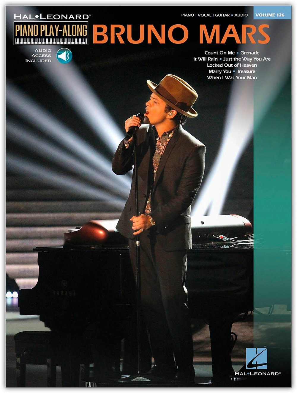 Hal Leonard Bruno Mars - Piano Play-Along Volume 126 Book/CD: Hal