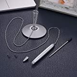 MyLifeUNIT Counter Pen with Chain, Spring
