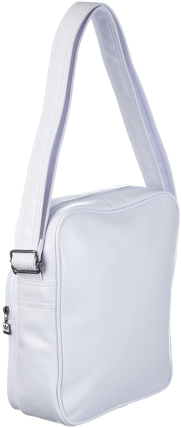 5aa1f2dde6 adidas Originals Ac Sir Bag, Pochette multisport homme - Blanc, Cuir:  Amazon.fr: Chaussures et Sacs
